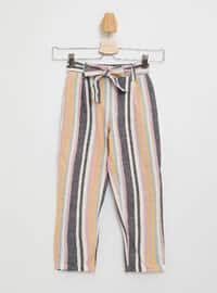 Ecru - Girls` Pants