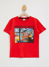 Red - Boys` T-Shirt