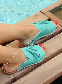 Sea-green - Sandal - Slippers
