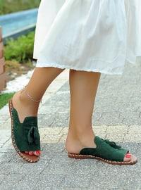 Green - Sandal - Slippers