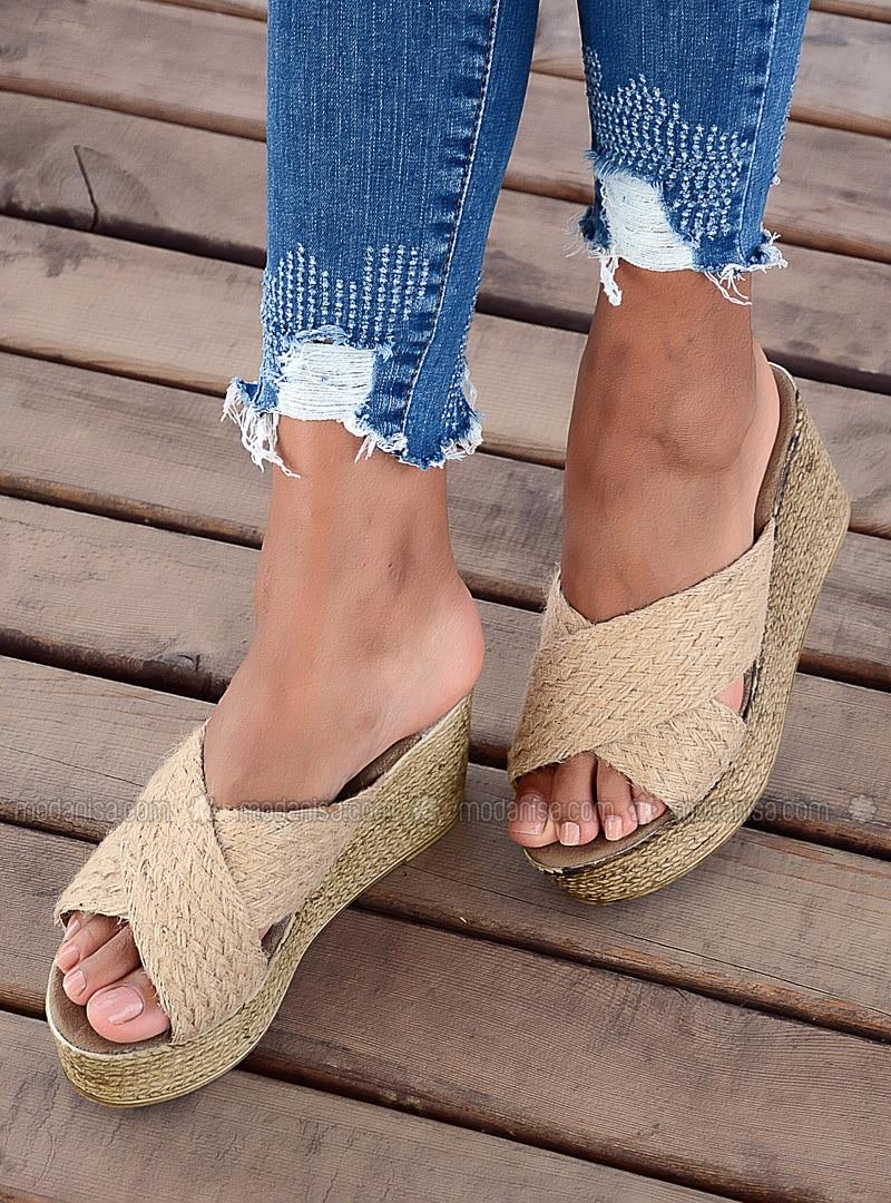 Camel - Sandal - Sandal