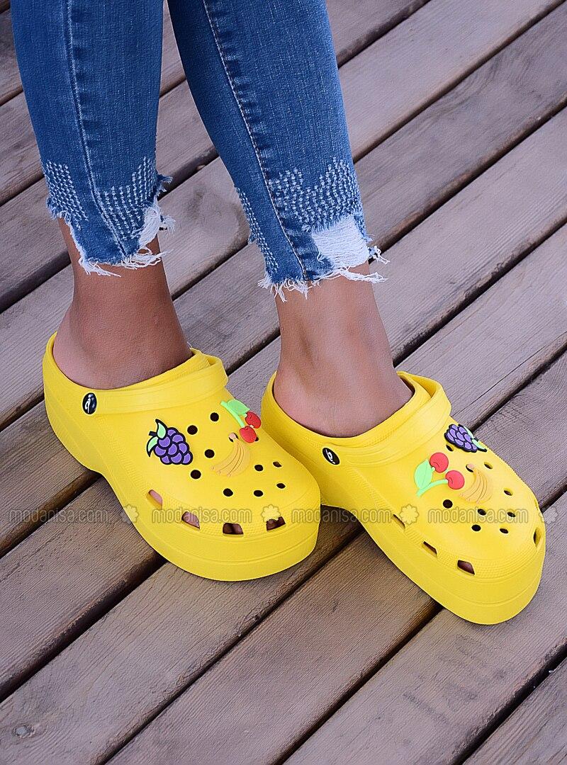 Yellow - Sandal - Sandal