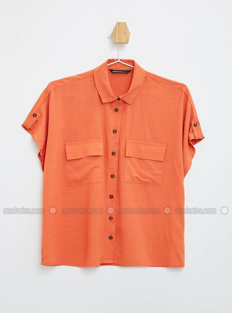 Orange - Blouses