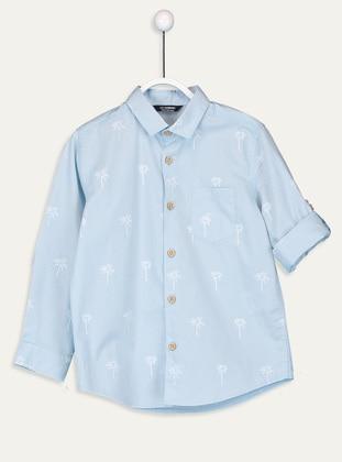 Printed - White - Boys` Shirt - LC WAIKIKI