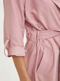 Pink - Trench Coat
