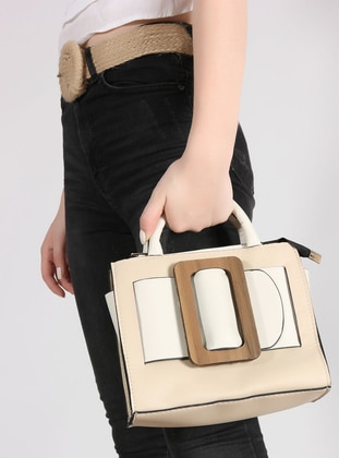 Beige - Nude - Shoulder Bags