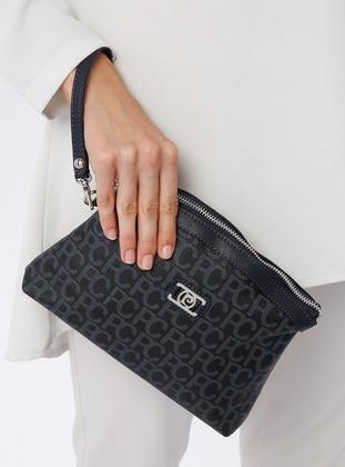Navy Blue - Clutch Bags / Handbags - Pierre Cardin Çanta