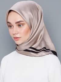 Multi - Plain - %100 Silk - Scarf