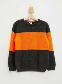 Anthracite - Boys` Pullover