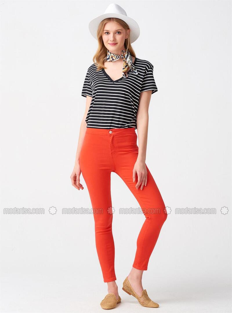 Coral - Pants