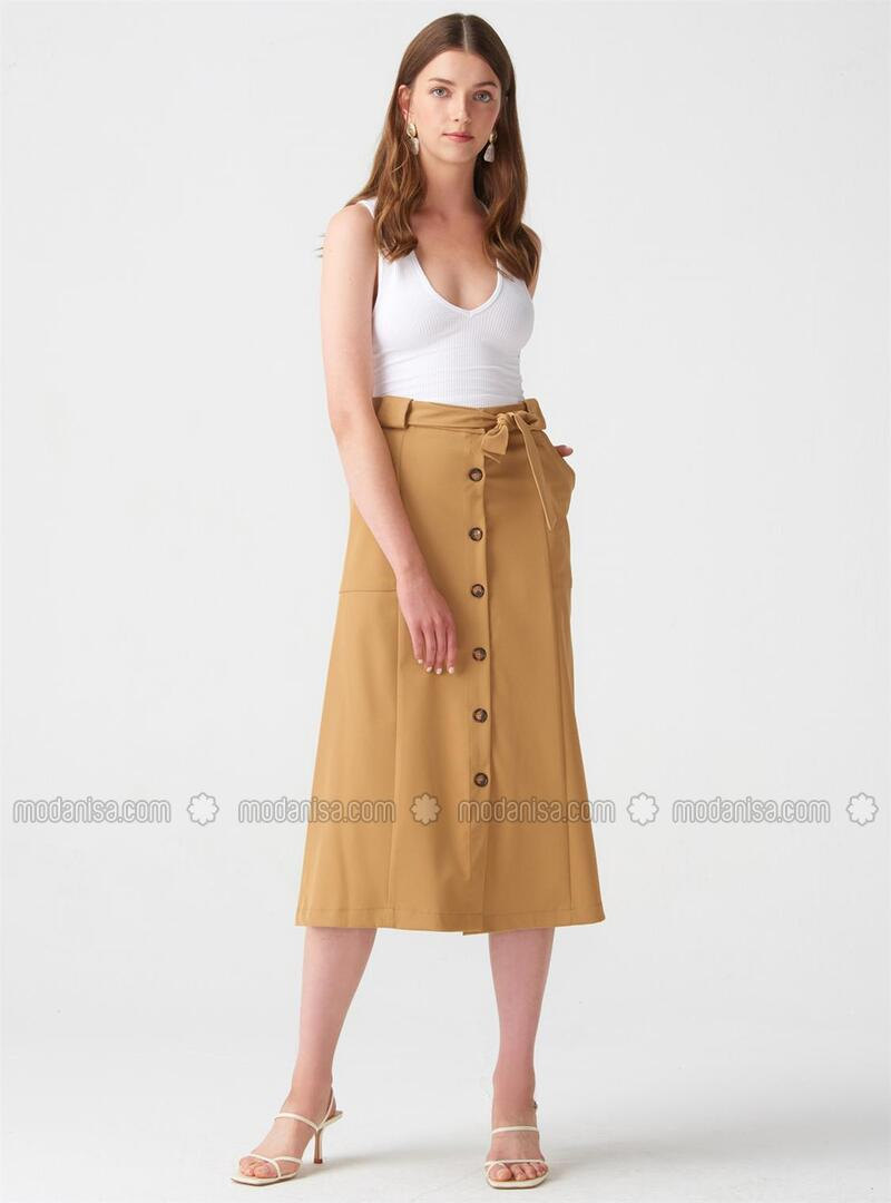Camel - Skirt