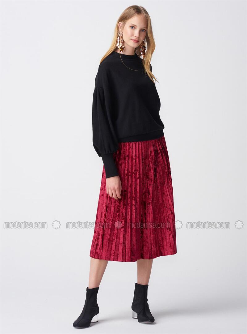 Maroon - Skirt