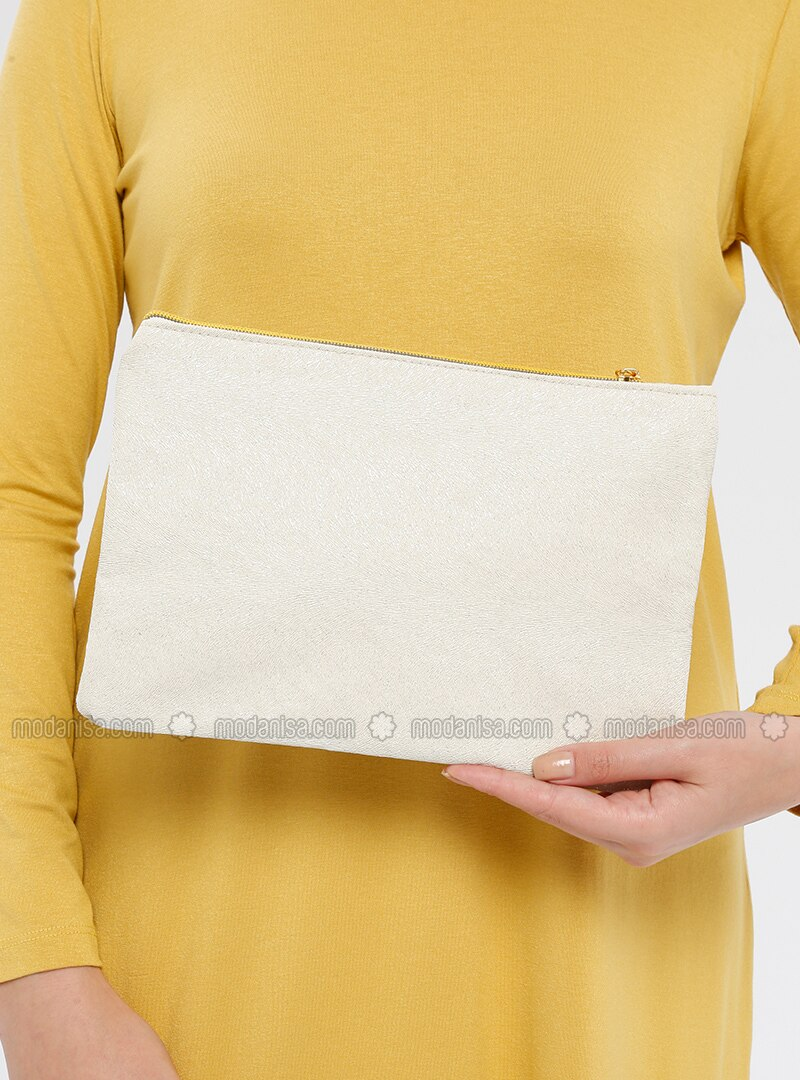 Ecru - Clutch Bags / Handbags