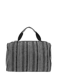 White - Black - Shoulder Bags