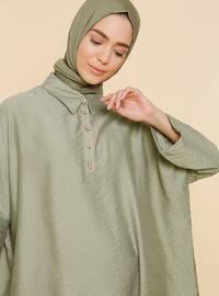 Su Yeşili - Astarsız kumaş - Viskon - Takım Elbise
