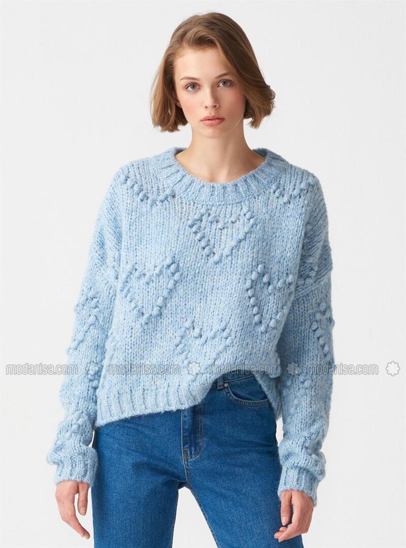 Blue - Knitwear