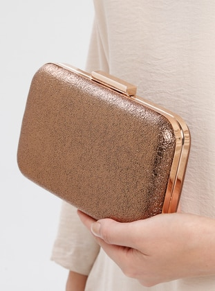 Copper - Clutch Bags / Handbags