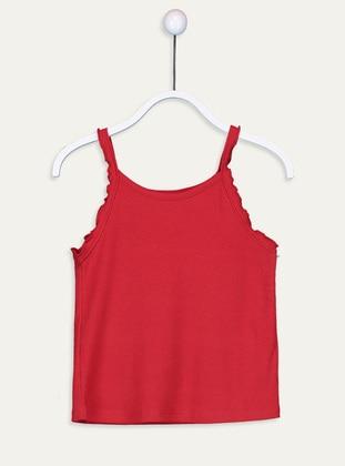 Red - Girls` Underwear
