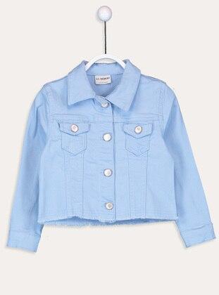 Blue - Girls` Vest