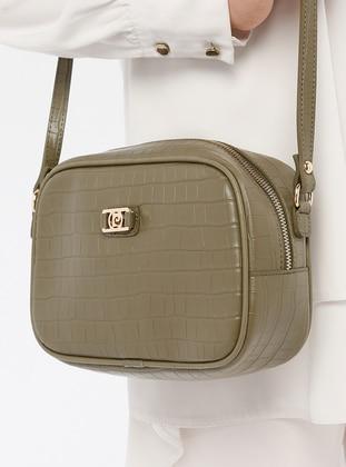Khaki - Shoulder Bags