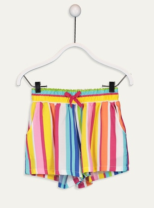 Yellow - Girls` Shorts - LC WAIKIKI