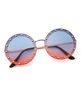 Lilac - Orange - Sunglasses