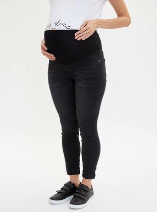 Black - Maternity Pants - DeFacto