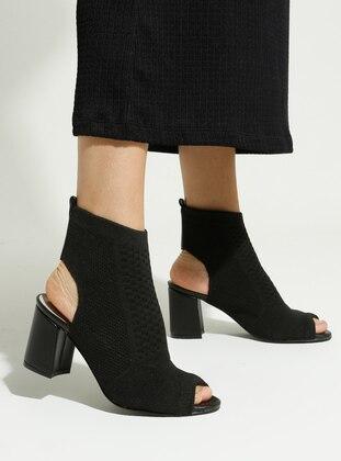 Black - Boot - High Heel - Boots