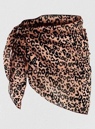 Chiffon - Leopard - Pareo