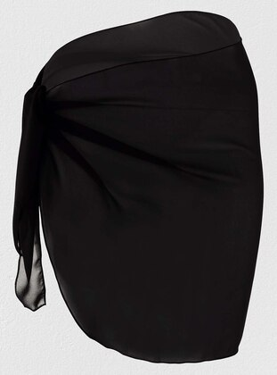 Chiffon - Black - Pareo