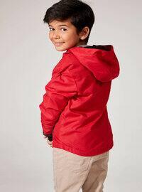 Red - Boys` Raincoat