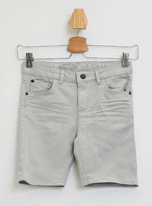 Silver tone - Boys` Shorts
