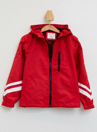 Red - Boys` Raincoat - DeFacto