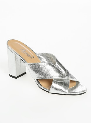 Silver tone - Sandal - Slippers