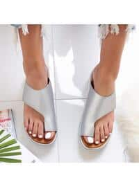 Silver tone - Slippers