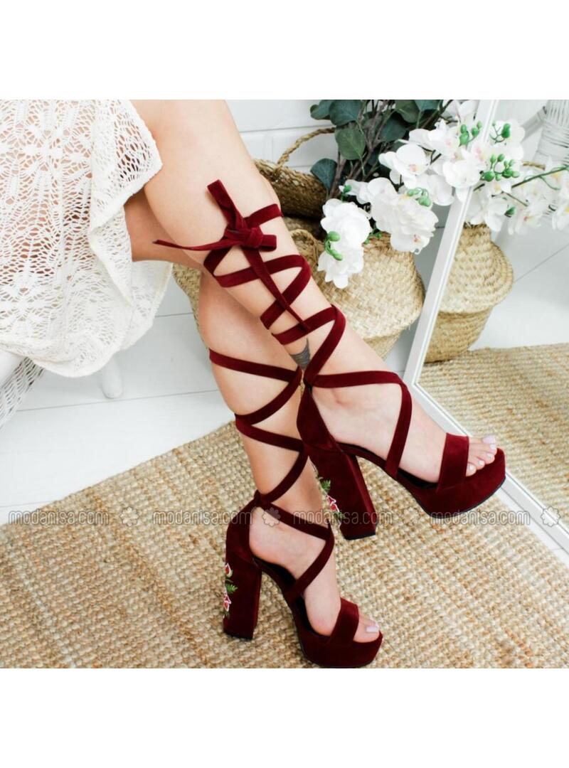 Maroon - Heels