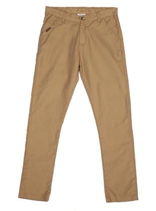 - Unlined - Camel - Boys` Pants