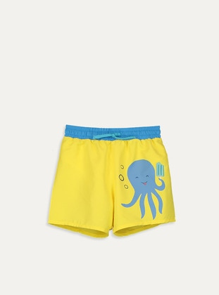 Yellow - Boys` Swimsuit - LC WAIKIKI