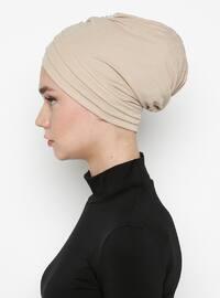 Beige - Simple - Bonnet
