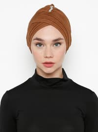 Brown - Simple - Bonnet