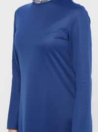Saxe - Crew neck - Unlined - Dress