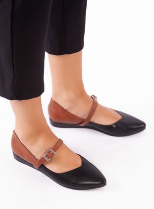 Black - Tan - Casual - Shoes