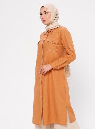 Cinnamon - Point Collar -  - Tunic