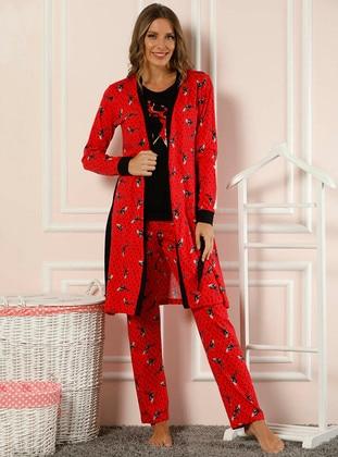 Red -  - Morning Robe