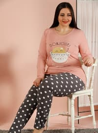Powder - Crew neck - Multi -  - Pyjama