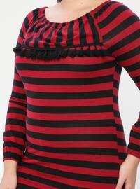 Black - Crew neck - Multi -  - Pyjama