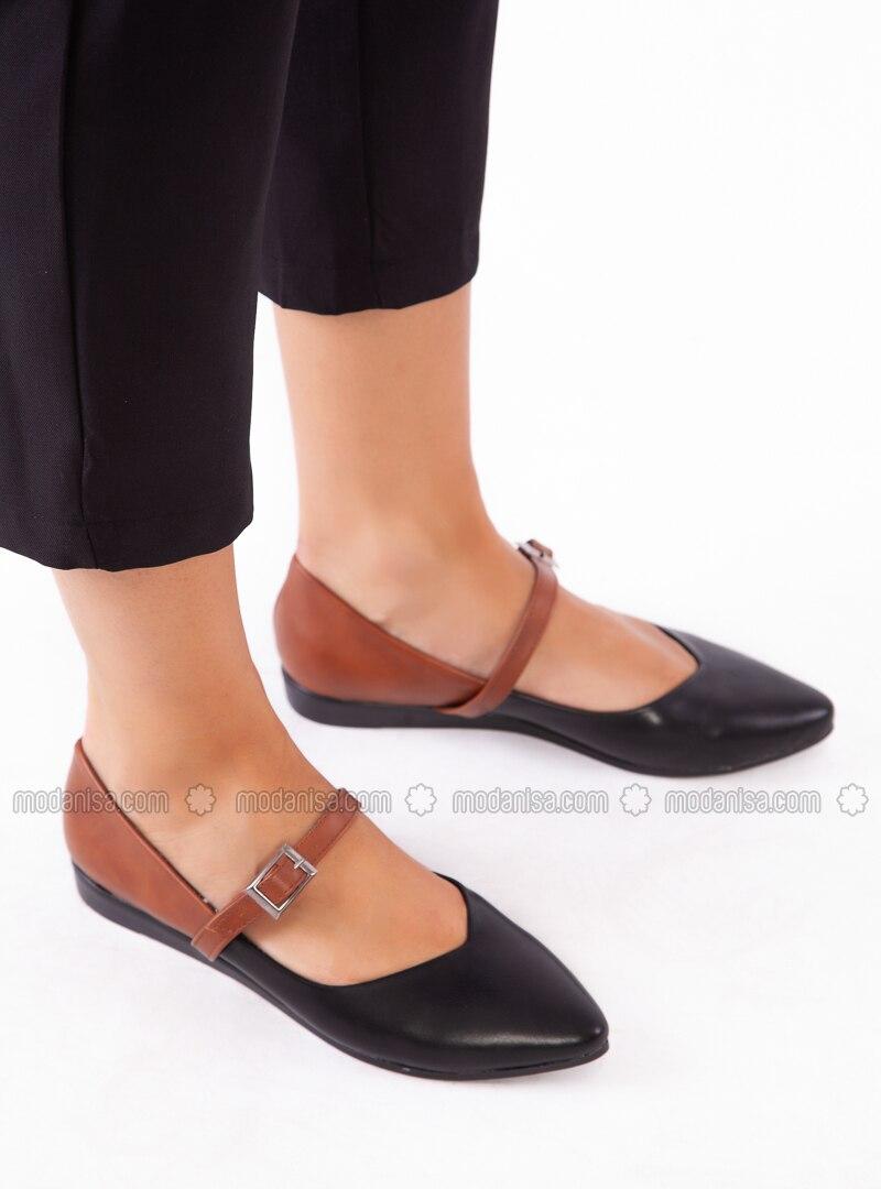 Black - Tan - Casual - Shoes