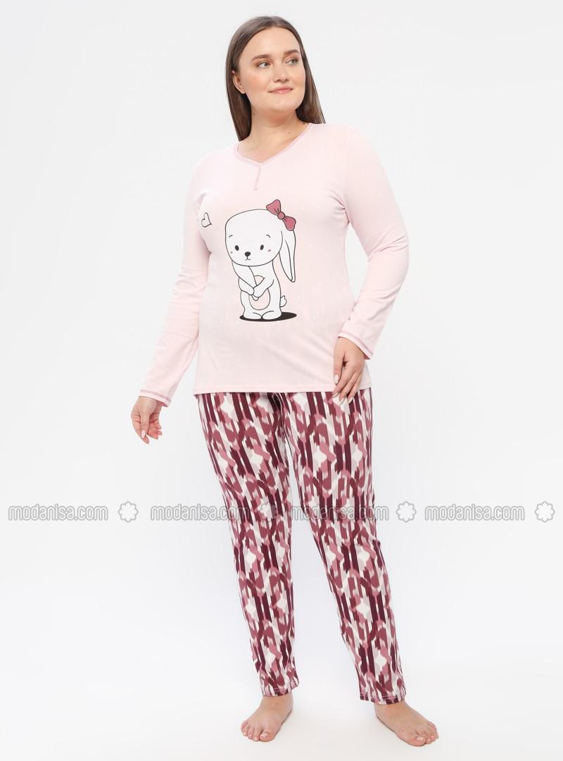 Powder - Crew neck - Multi -  - Pyjama