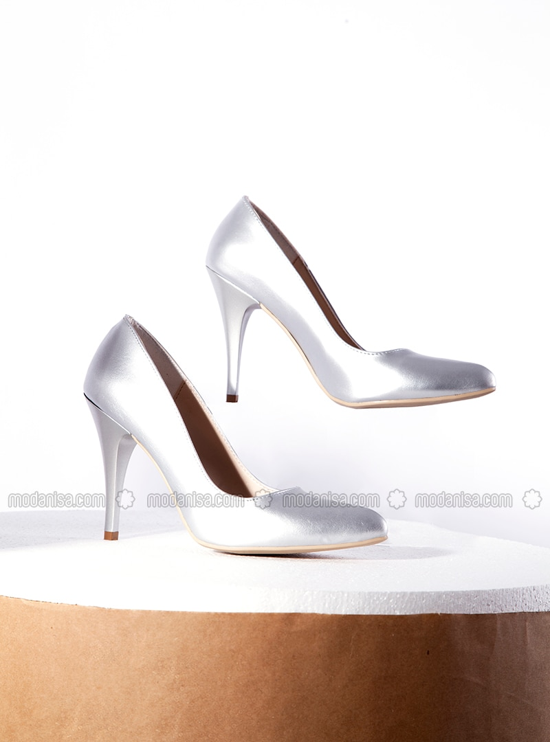 available best service coupon codes Silver tone - High Heel - Shoes