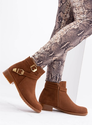 Gold - Tan - Boot - Boots